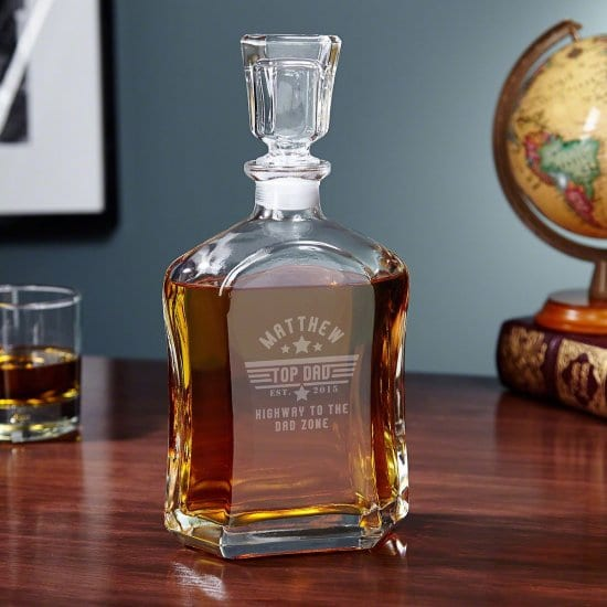 Custom Decanter for Dads