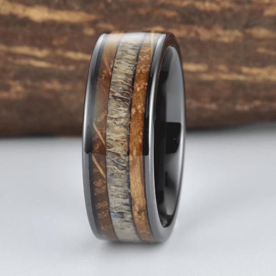 Custom Made Whiskey Barrel Ring