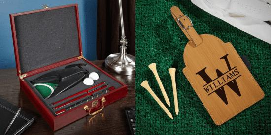 Putter Golf Set and Custom Bag Tag