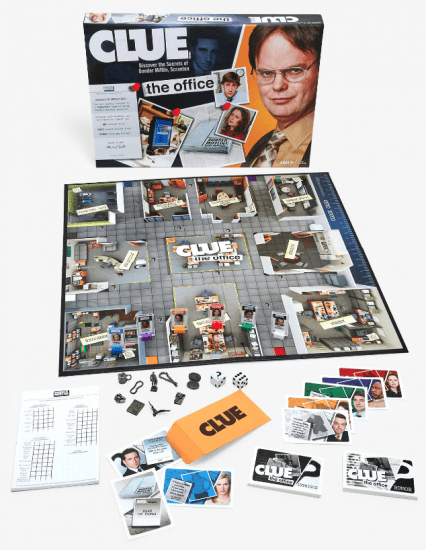 Clue Office Game Set