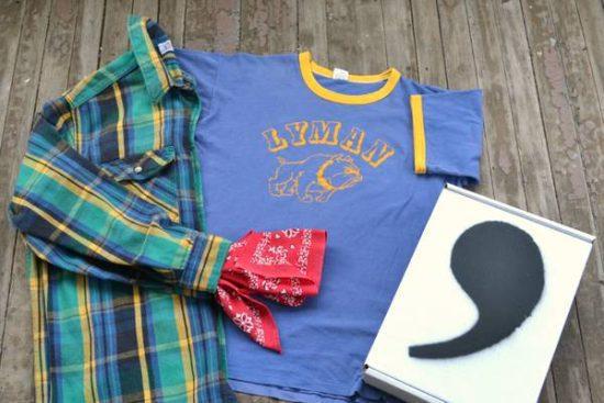 Vintage Clothing Gift Box