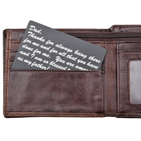 Personal Wallet Note