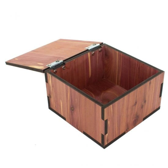 Personalized Cedar Chest with Hinged Lid