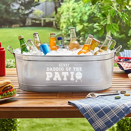 Dad Beverage Tub Personalized Fathers Day Gifts