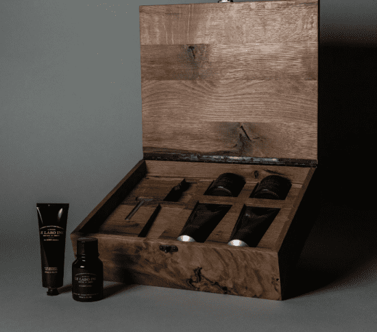 Wooden Grooming Gift Set Last Minute Fathers Day Gifts