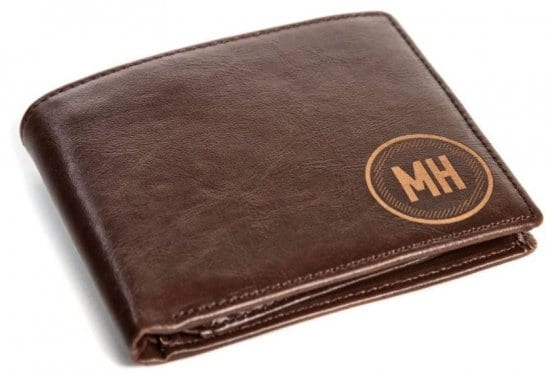 Engravable Leather Wallet