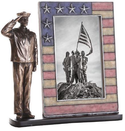 Navy Salute Photo Frame