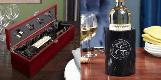Wine Box and Marble Chiller Gift Ideas for Inlaws