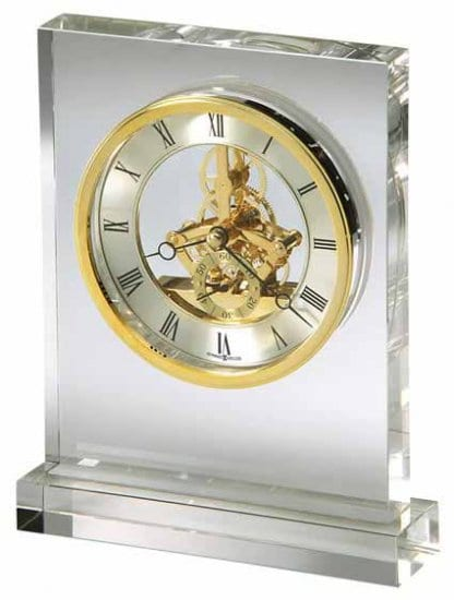 Crystal Skeleton Clock 15 Year Anniversary Gift