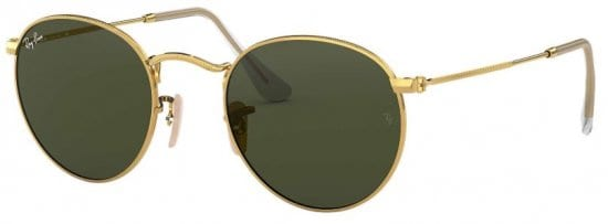 Metal Polished Sun Glasses