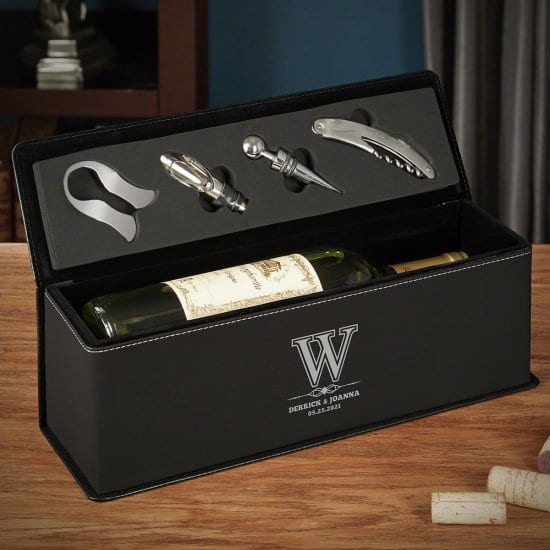 Leather Wine Gift Box
