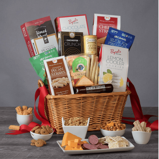 Gourmet Snack Box Gifts for Old People