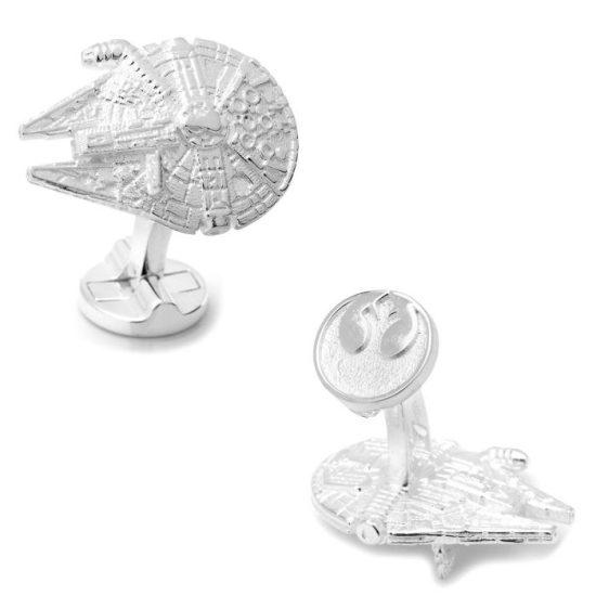 Star Wars Sterling Silver Cufflinks