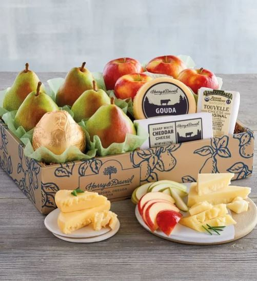 Fruit Tower Gift Basket Boss Day Gifts