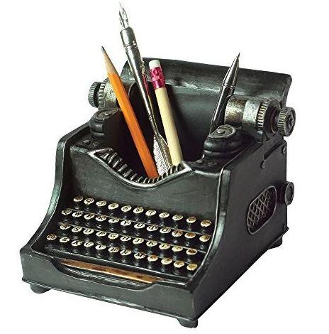 Typewriter Pencil Cup