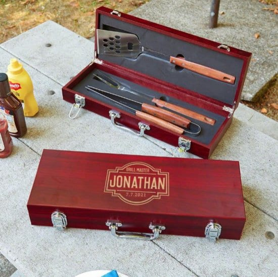 Personalized Grilling Tools