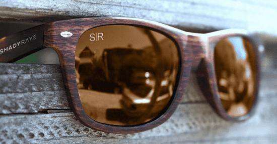 Wooden Sunglasses Set