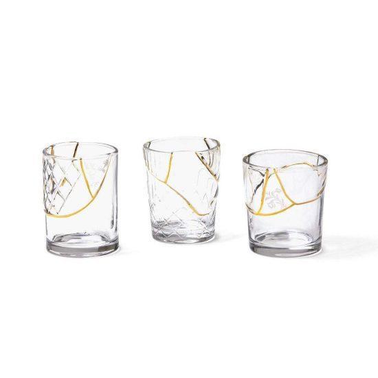 Gold Inlaid Glasses