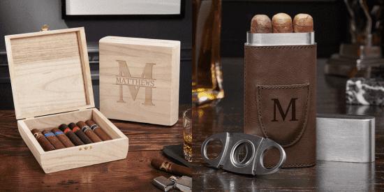 Cigar Box and Cigar Case