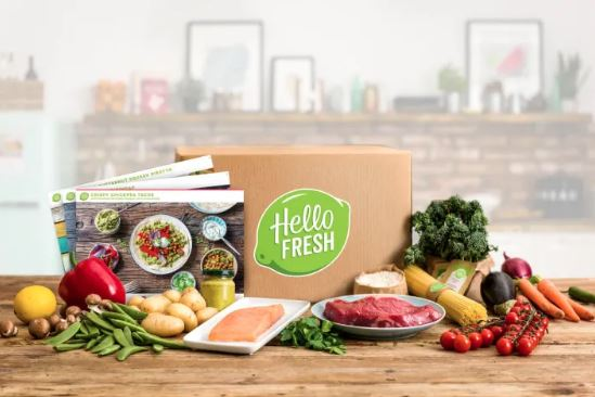 Hello Fresh Meal Kit Delivery