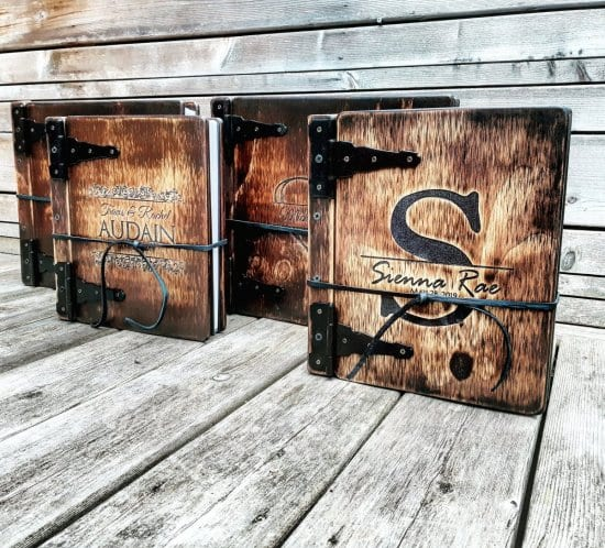 Rustic Personalized Journal