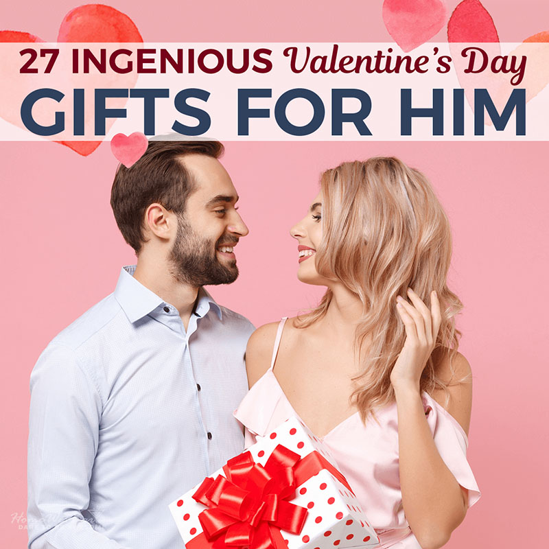 27 Ingenious Valentine's Day Gifts for Him