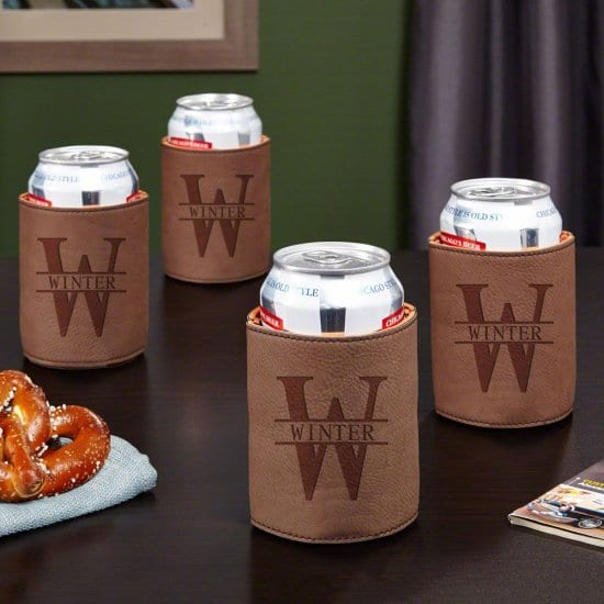 Personalized Beer Can Coolers