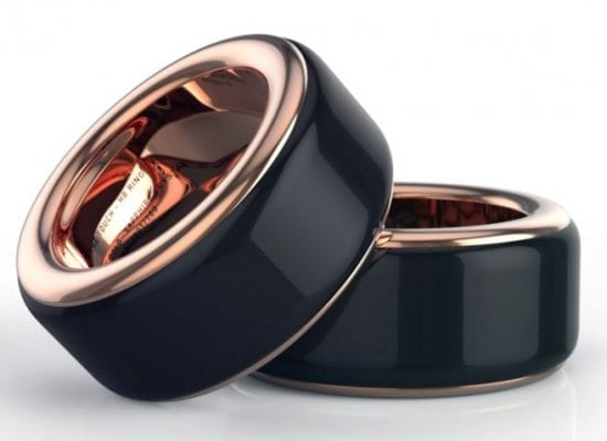 Long Distance Relationship Gifts Heartbeat Rings
