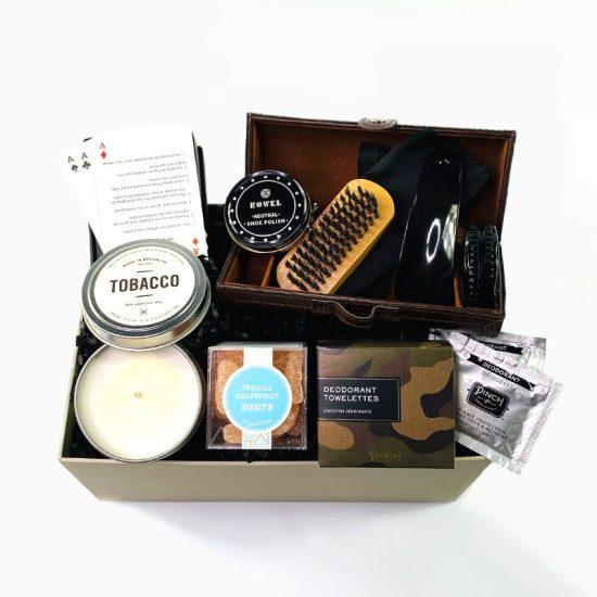 Man Gift Box of Grooming Supplies