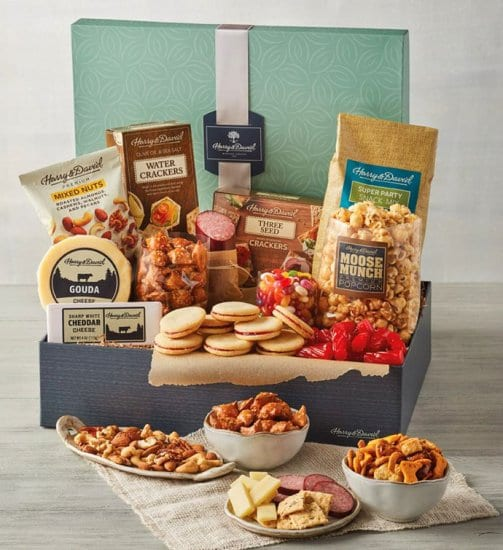 Sweet and Salty Snack Christmas Gifts for Employees