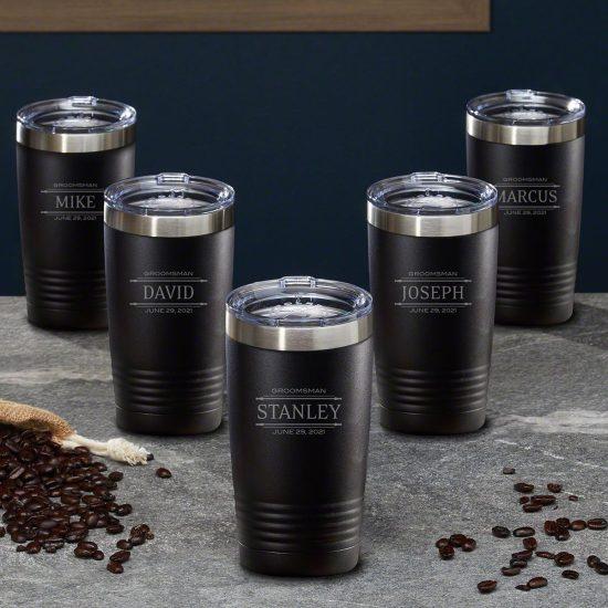 Custom Coffee Tumbler Gift Set for Employees