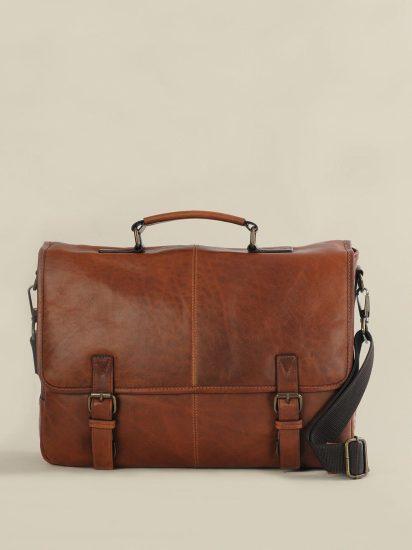 Leather Mens Travel Bag