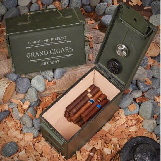 Custom Ammo Can Cigar Humidor