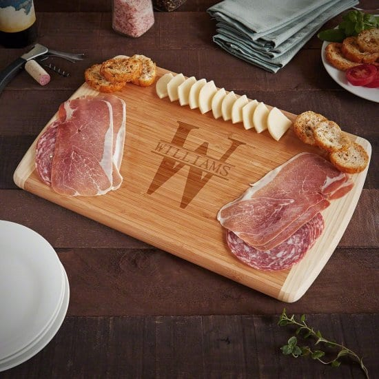 Personalized Cutting Board Gift for Retirement