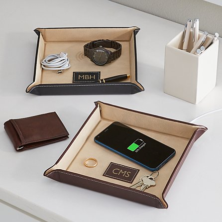 Wireless Charger Catchall Tray