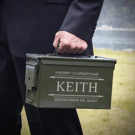 Personalized Ammo Can Employee Gift