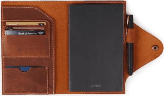 Leather Portfolio Gift for Employees