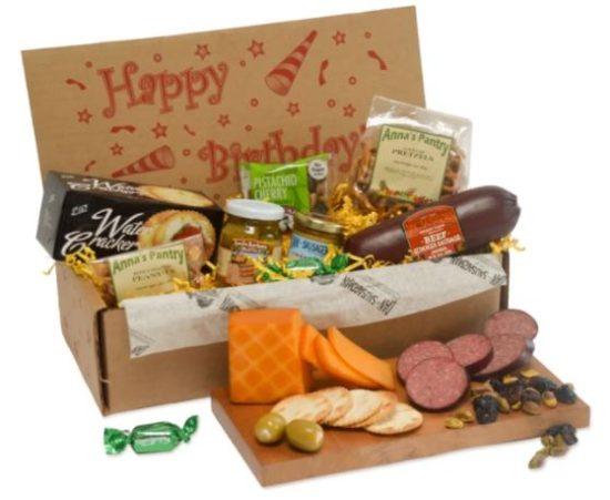 Snack Box Romantic Birthday Gift for Him