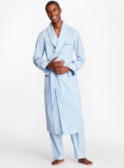 Multi Stripe Robe