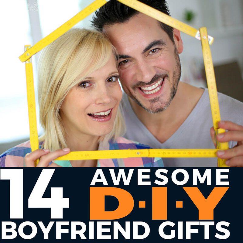 14 Awesome DIY Boyfriend Gifts