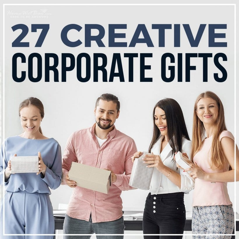 27 Creative Corporate Gifts