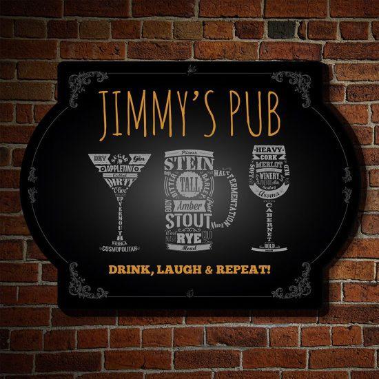 Custom Pub Man Cave Sign