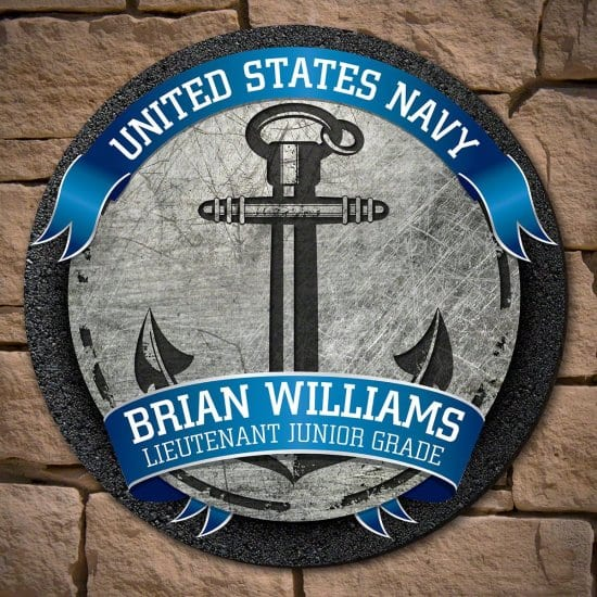 Customized Navy Sign