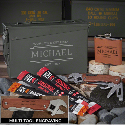 Custom Ammo Can Best Birthday Gifts for Dad
