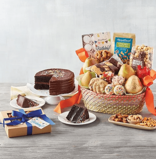 Cake and Treat Birthday Gift Ideas for Him