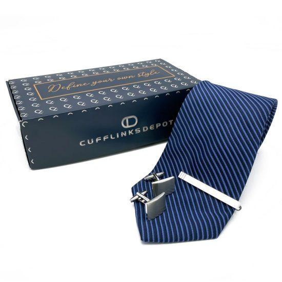 Cufflinks Depot Tie and Cufflink Gift Set