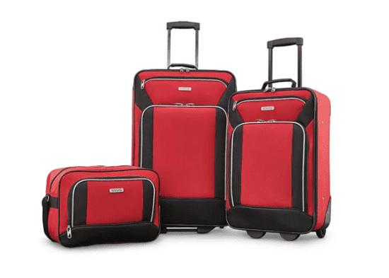 American Tourister 3 Piece Suitcase Set