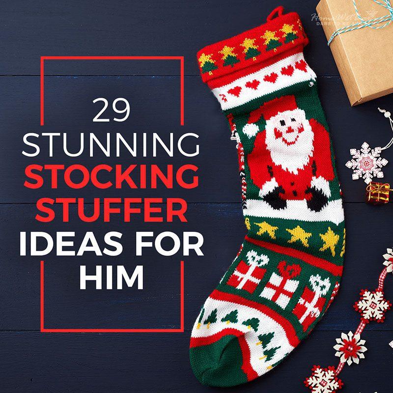 29 Stunning Stocking Stuffer Ideas for Him