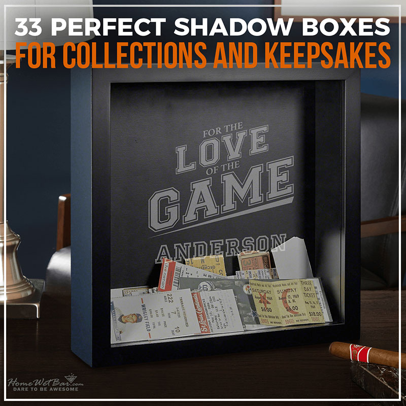33 Perfect Shadow Boxes for Collections and Keepsakes
