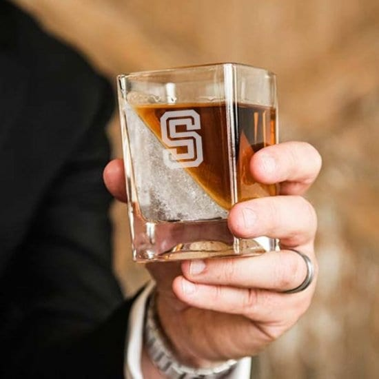 Whiskey Wedge Glass Drinking Accessories